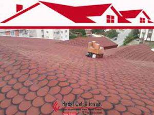 Shingle (Şıngıl) çatı